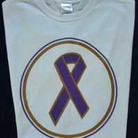 Purple Ribbon Tee-Shirt
