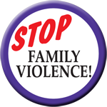 Stop Family Violence - Button