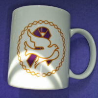 Dove Purple Ribbon - MUG