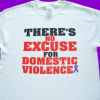 There's No Excuse For DV - Tee-Shirt