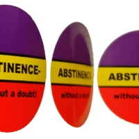 Abstinence-without a doubt! - Stickers