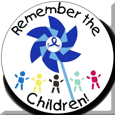 Remember The Children - Button
