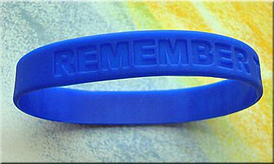 """REMEMBER THE CHILDREN"" Bag of 25 Wristbands/Bracelets"