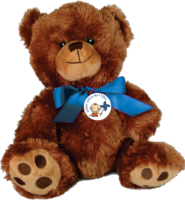 """EVERY CHILD MATTERS - 10"""" Teddy Bear w/embroidered features"""