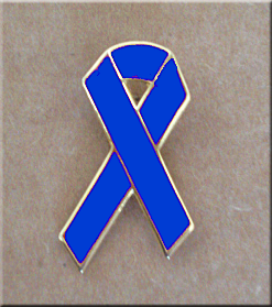 Blue Ribbon - Lapel Pin