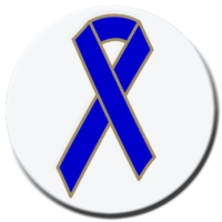 Blue Ribbon - Button