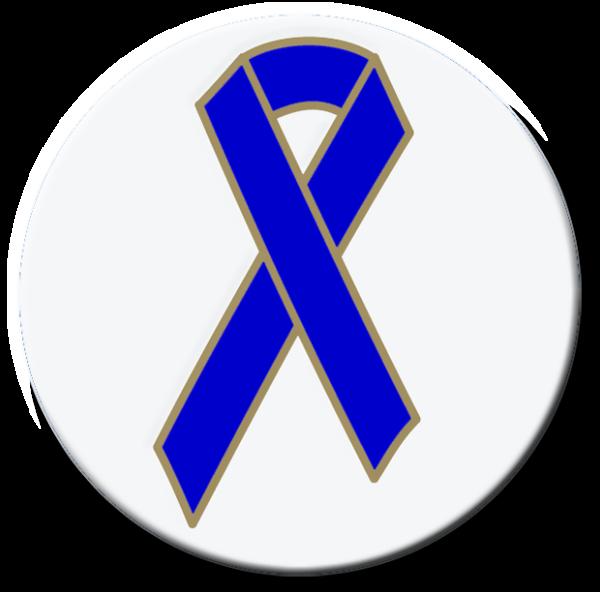Blue Ribbon - Button