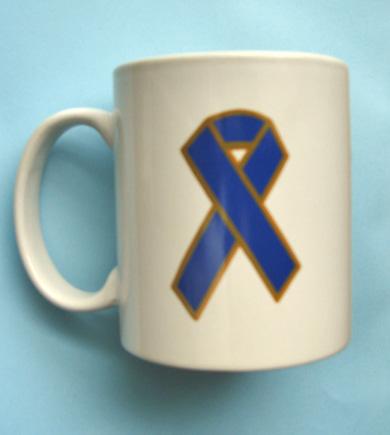 Blue Ribbon - Mug