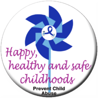 Happy, healthy & safe childhoods - Button