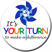 It's Your Turn to Make a Difference Buttons