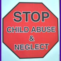"STOP CHILD ABUSE - 18""x24""Poster"