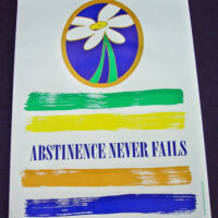 DAISY/Abstinence Never Fails - Poster