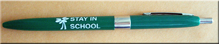 Daisy/STAY IN SCHOOL! - Ballpoint Pen