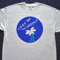 Daisy/STAY IN SCHOOL - Tee Shirt