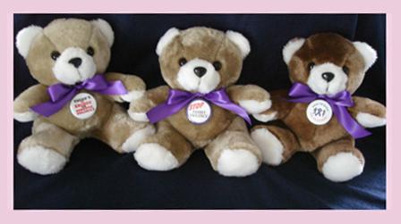 Stop Family Violence - Teddy Bear