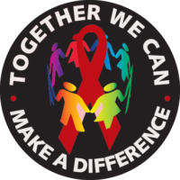 Together We Can Make A Difference Button