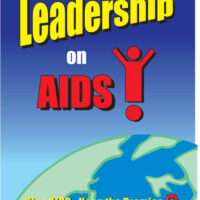 "Leadership on AIDS 18x24"" Poster"
