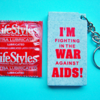 I'M FIGHTING... Condom Key Chain