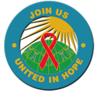 UNITED IN HOPE- Button