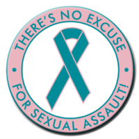 No Excuse For Sexual Assault - Roll of 1000 Stickers