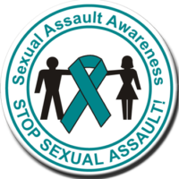 Sexual Assault Awareness - Button