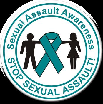 Sexual Assault Awareness - Button