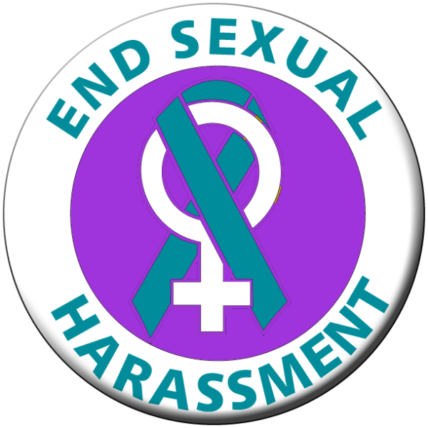 END SEXUAL HARASSMENT WS- Button