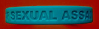 STOP SEXUAL ASSAULT! - Bag of 25 Wristbands