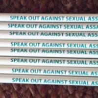 SPEAK OUT AGAINST SEXUAL ASSAULT!-Pencil