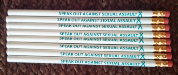 SPEAK OUT AGAINST SEXUAL ASSAULT!-Pencil