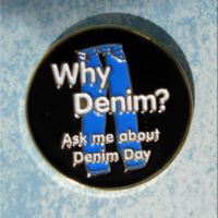 Why Denim - Lapel Pin