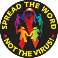 """Spread the word - not the virus! - Button"