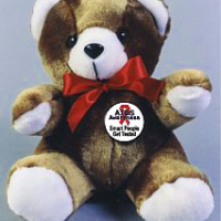 Smart People Get Tested -Teddy Bear