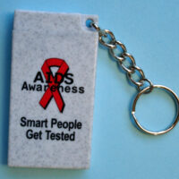 WORLD AIDS EVERY DAY - Condom Key Chains
