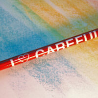 I LOVE CAREFULLY - Pencil