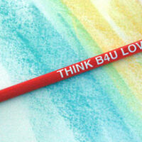 THINK B4U LOVE - Pencil