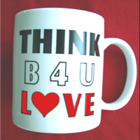 THINK B4U LOVE!