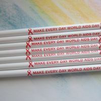 MAKE EVERY DAY WORLD AIDS DAY-Pencils