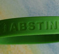 DAISY/ABSTINENCE NEVER FAILS! Wristbands