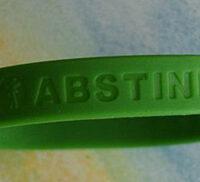 DAISY/ABSTINENCE NEVER FAILS! Wristbands