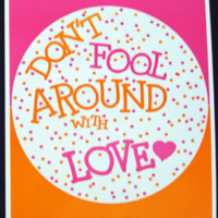 DON'T FOOL AROUND WITH LOVE-Poster