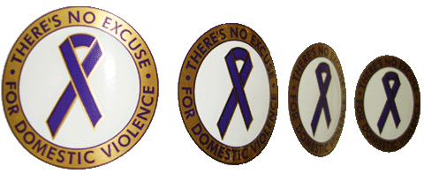 There's No Excuse For Domestic Violence - Stickers