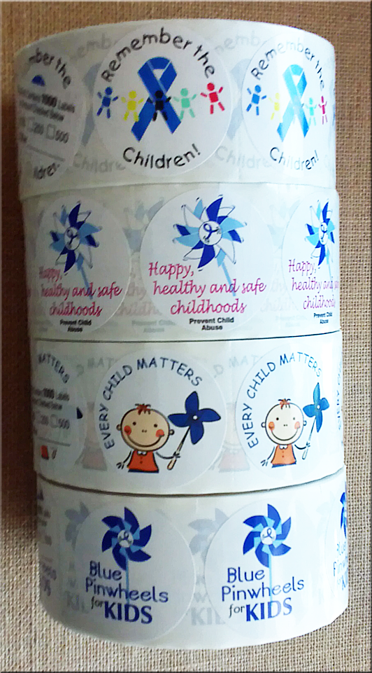 *STICKER SALE - Get 3 Rolls of our Awareness Stickers for only $48.95 per roll and also receive a FREE POSTER!