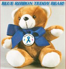 Blue Ribbon - Teddy Bear