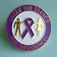 LAPEL PINS/Domestic Violence
